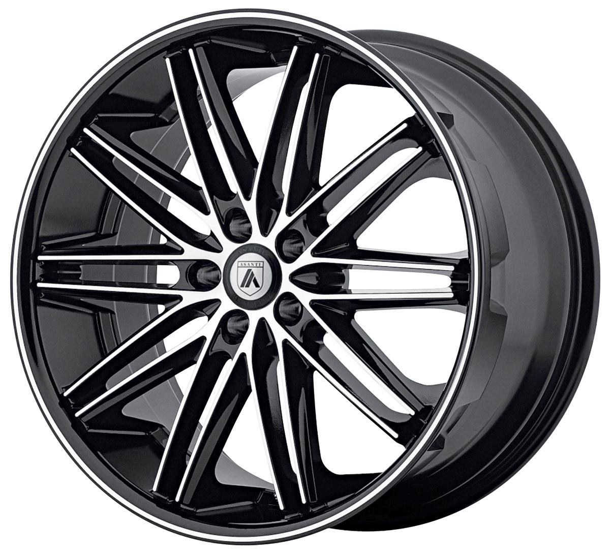 Wheel, Asanti Black, POLLUX, 2016-19 CTS/CTS-V, 22x9