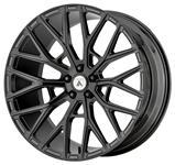 Wheel, Asanti Black, LEO, 2016-19 CTS/CTS-V, 22x9
