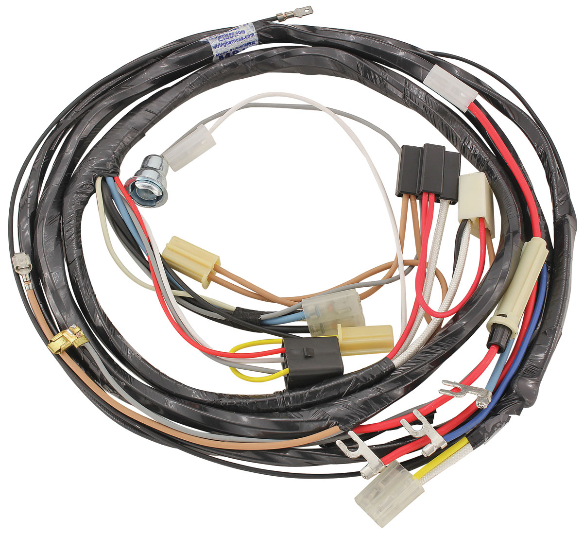 Wiring Harness, Air Conditioning, 1959 Bonn/Cat, w/ Circulaire inc. Heater Wire