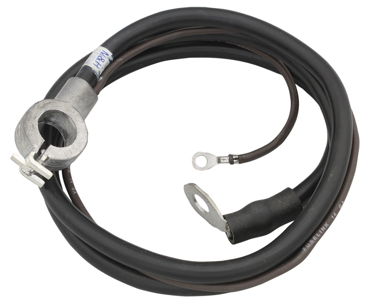 Battery Cable, Spring Ring, Negative, 1969 Bonn/Cat