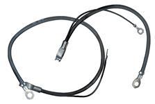 Battery Cable, Spring Ring, Negative, 61-62 Temp/LeMans, V8