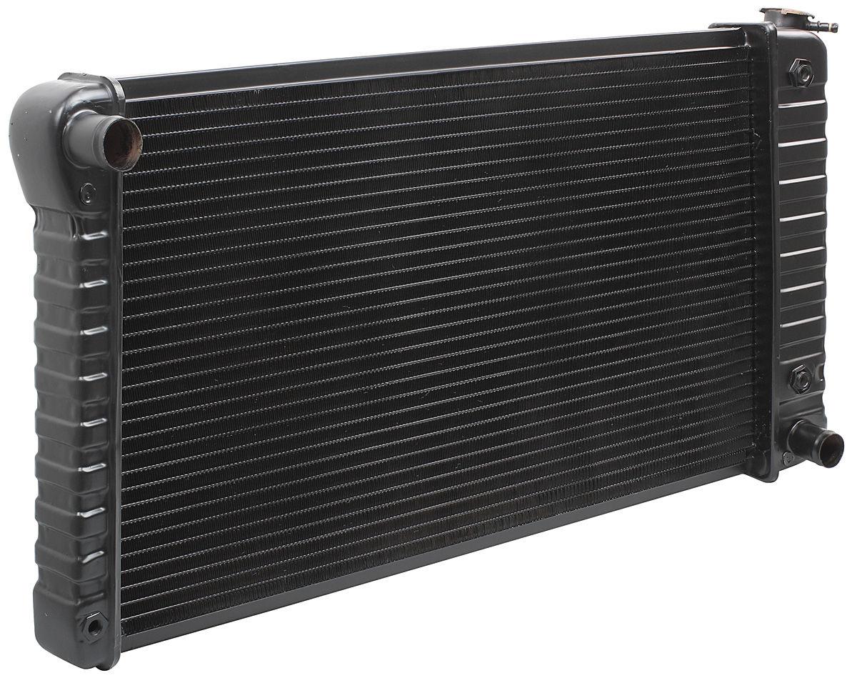 "Radiator, 1968-71 Chevrolet, BOP, Manual, 2-Row, 17"" X 28-3/8"" X 1-1/4"""
