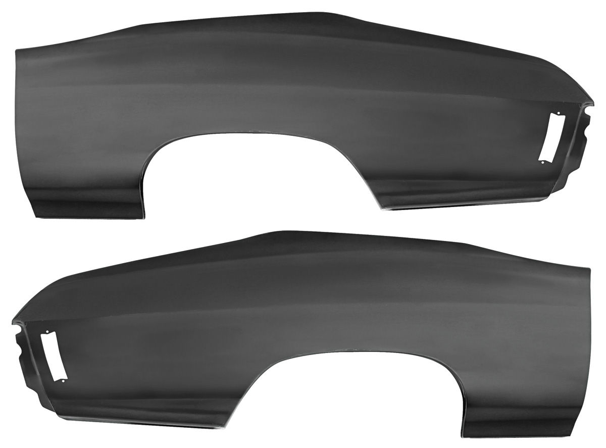 "Quarter Panel, 1970-72 Chevelle, 75"" Long X 27"" High, Pair"