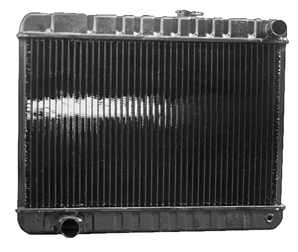 "Radiator, 1961-63 Tempest/LeMans, V8, AT, 3-Row, 12-3/8"" X 24-3/4"" X 2"""