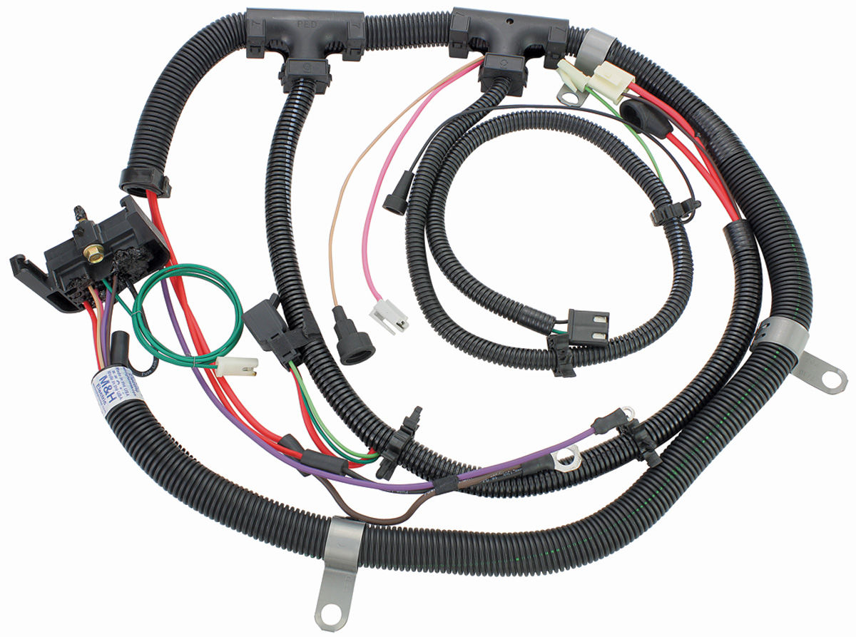 Wiring Harness, Engine, 1980 El Cam./Mont/Mal., 231 V6, Gauges, Exc. Turbo  @ OPGI.com | 1980 El Camino Wiring Harness |  | OPGI