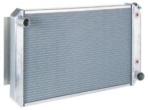 Radiator, Aluminum, Be Cool, 1968-77 SB/BB/Pontiac, Automatic Trans, Polished