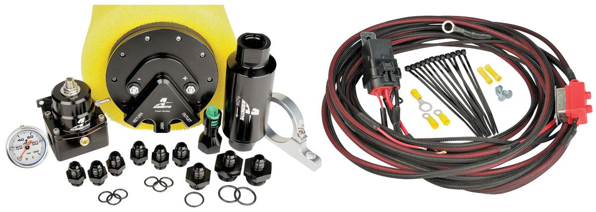 Fuel System, Phantom 340, Aeromotive, Late Model EFI Applications