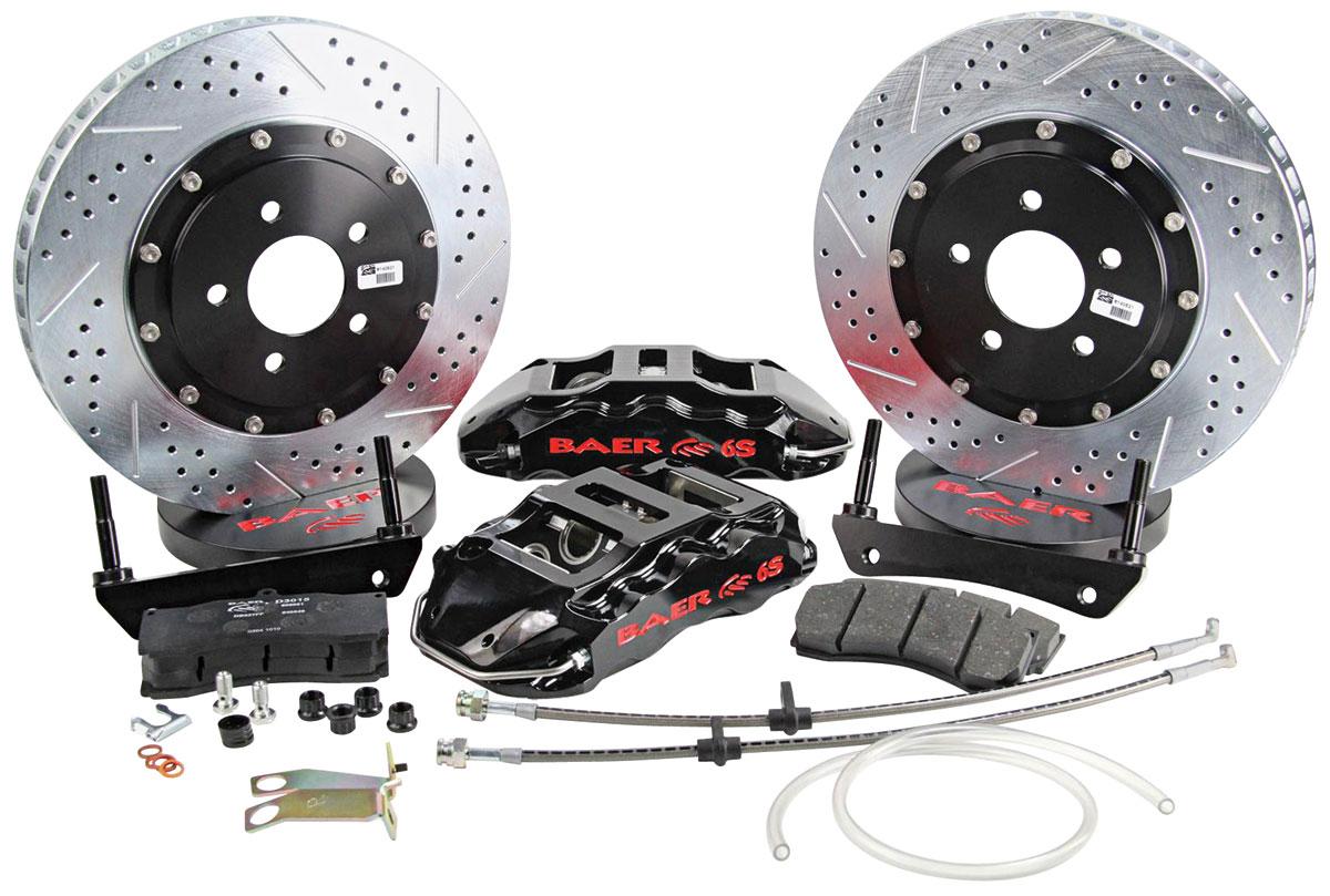 Disc Brake Kit, Baer, 2002-18 Escalade, Extreme+, Front, 15x1.25