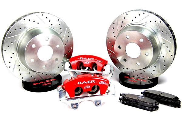 Disc Brake Kit, Baer, 2002-18 Escalade, AlumaSport, Rear, 14x1.15 Rotors