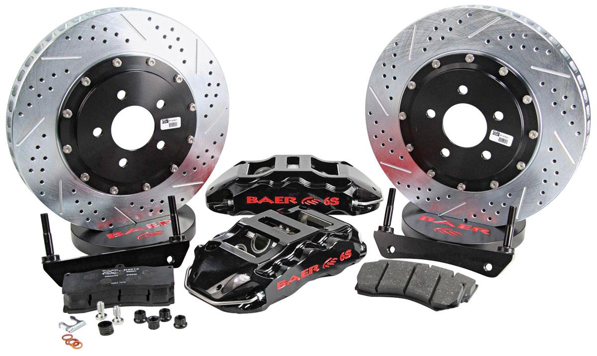 Disc Brake Kit, Baer, 2002-18 Escalade, Extreme+, Rear, 15x1.25