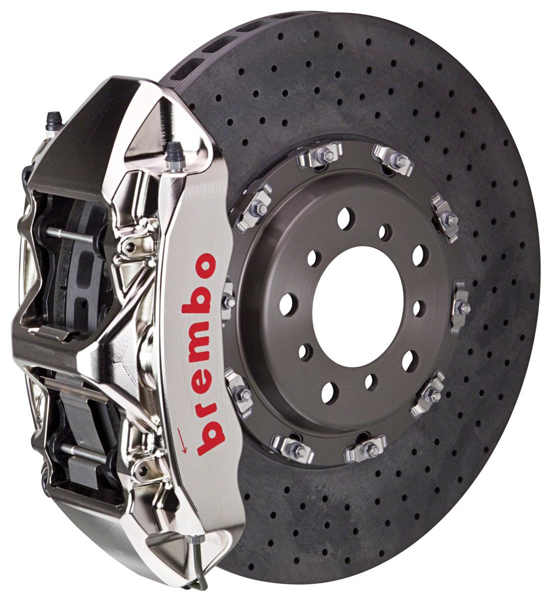 Brake Set, Brembo GT-R, 09-15 CTS-V, Front, CCM-R 2pc 380 Rotor, 1pc 6P Caliper