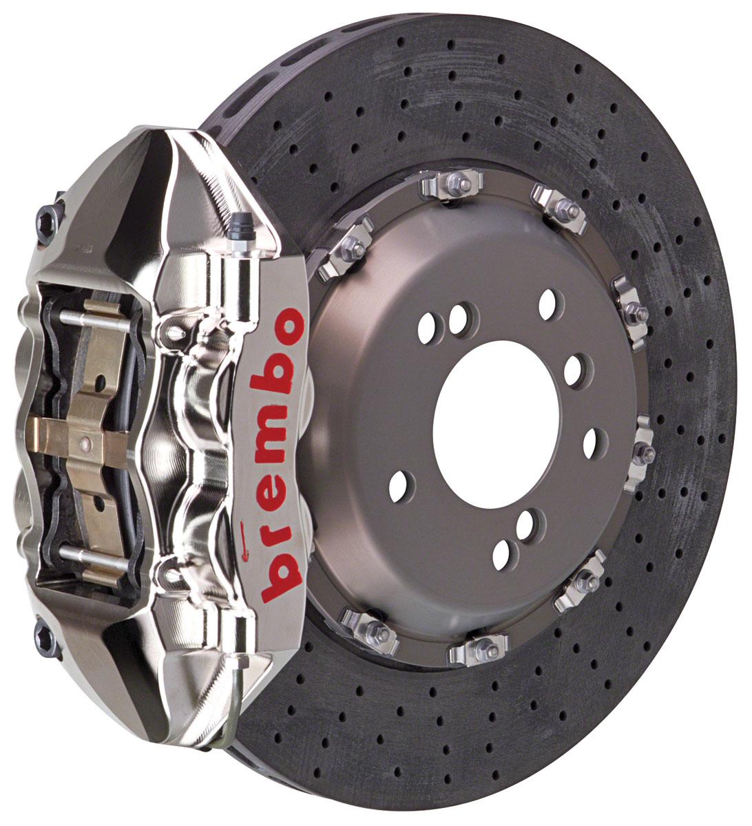 Brake Set, Brembo GT-R, 09-15 CTS-V, Rear, CCM-R 2pc 380 Rotor, 1pc 4P Caliper