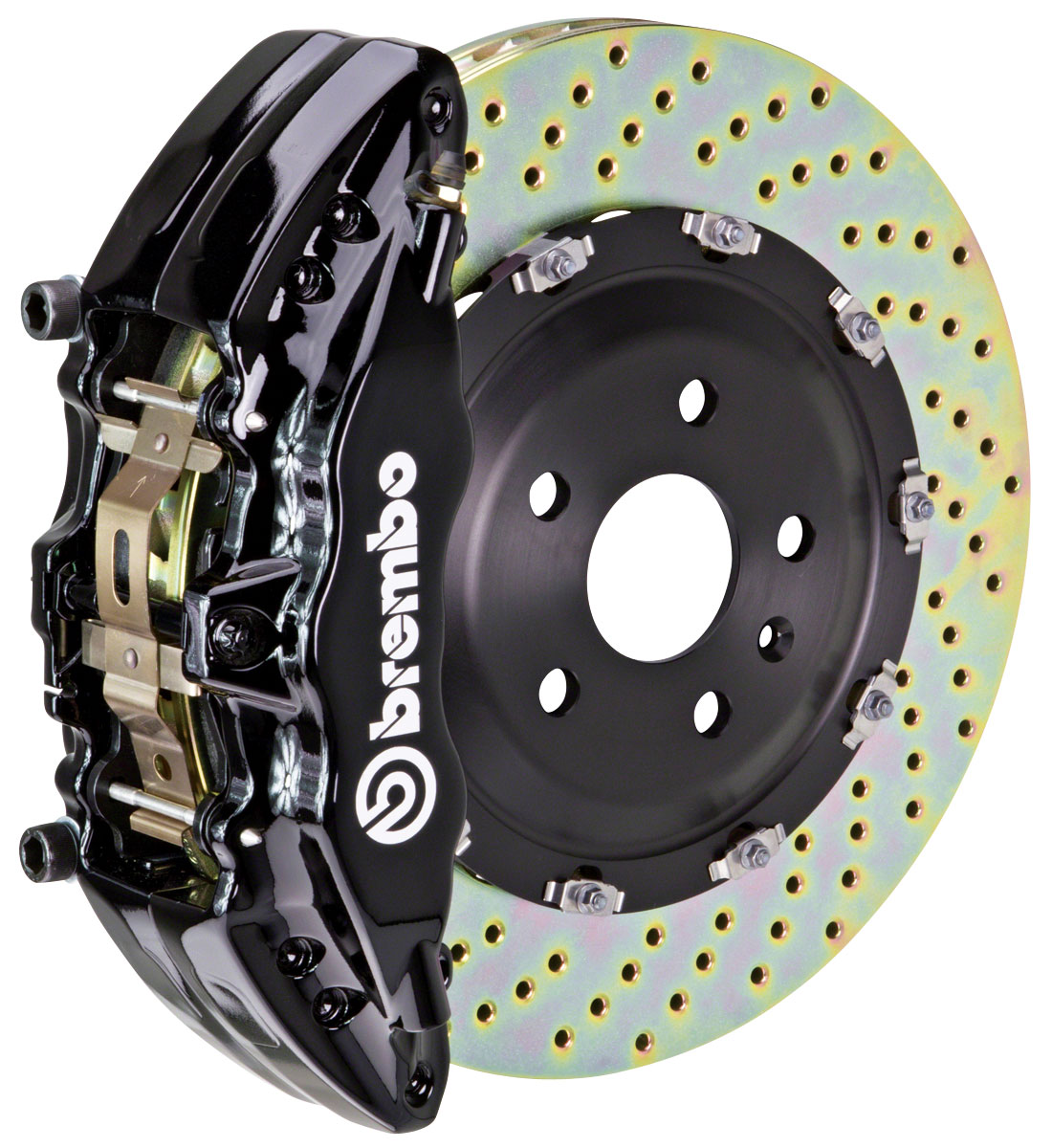 Brake Set, Brembo, 2002-06 Escalade/ESV/EXT, Front, 2pc 380mm Rtrs, 6P Calipers