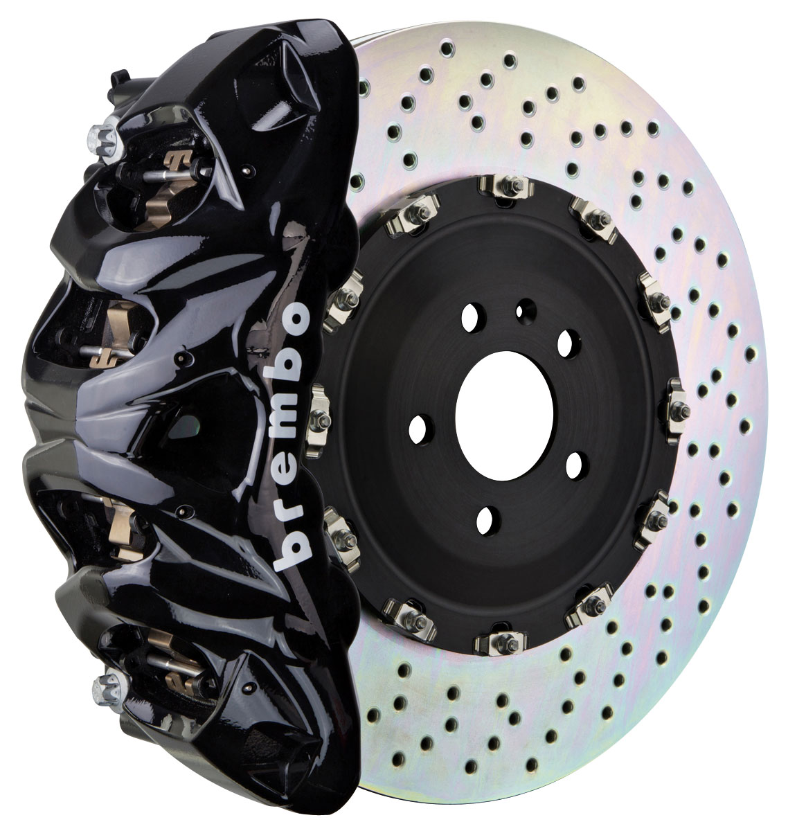 Brake Set, Brembo, 2007-19 Escalade/ESV/EXT, Front, 2pc 412mm Rtrs, 8P Calipers