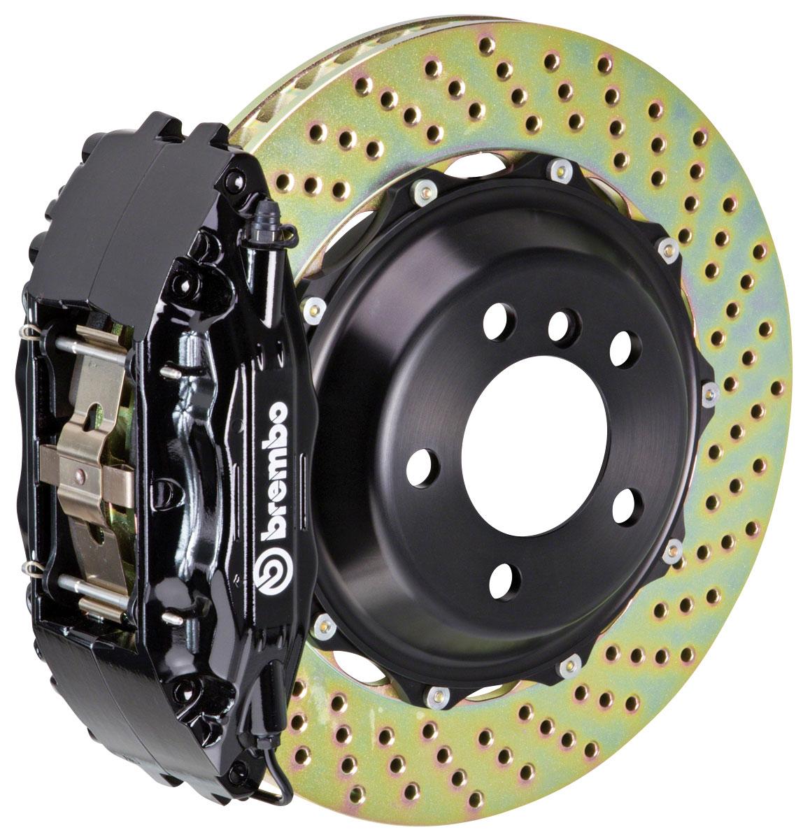 Brake Set, Brembo, 2002-06 Escalade/ESV/EXT, Rear, 2pc 355mm Rotors, 4P Calipers