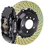 Brake Set, Brembo, 2007-14 Escalade/ESV/EXT, Rear, 2pc 380mm Rotors, 4P Calipers