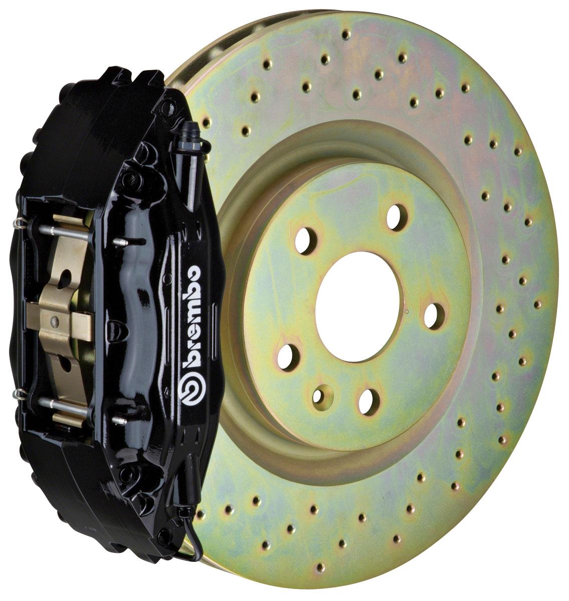 Brake Set, Brembo GT, 2004-09 XLR/XLR-V, Front, 1pc 355mm Rotors, 2pc 4P Caliper