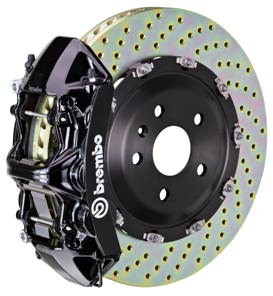Brake Set, Brembo, 2004-09 XLR/XLR-V, Front, 2pc 380mm Rotors, 1pc 6P Calipers