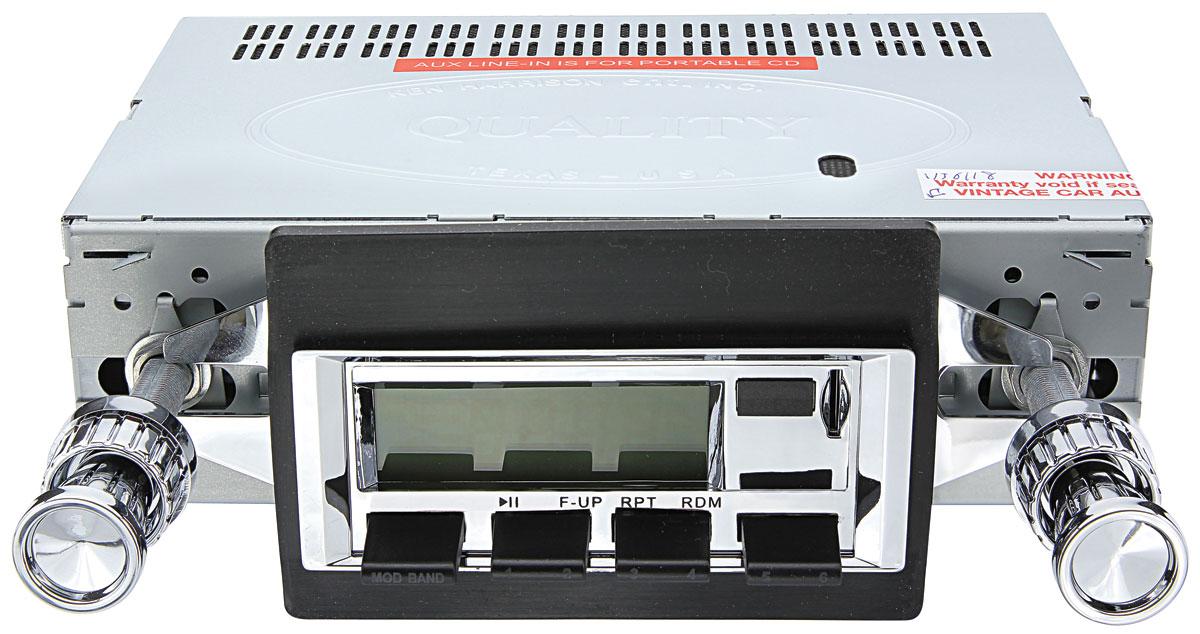 Stereo, 100 Series, 1973-76 Bonn/Cat, Chrome