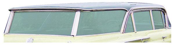 Seal, Quarter Window, 1961-64 Bon/Cat 4dr Wagon Stationary Glass
