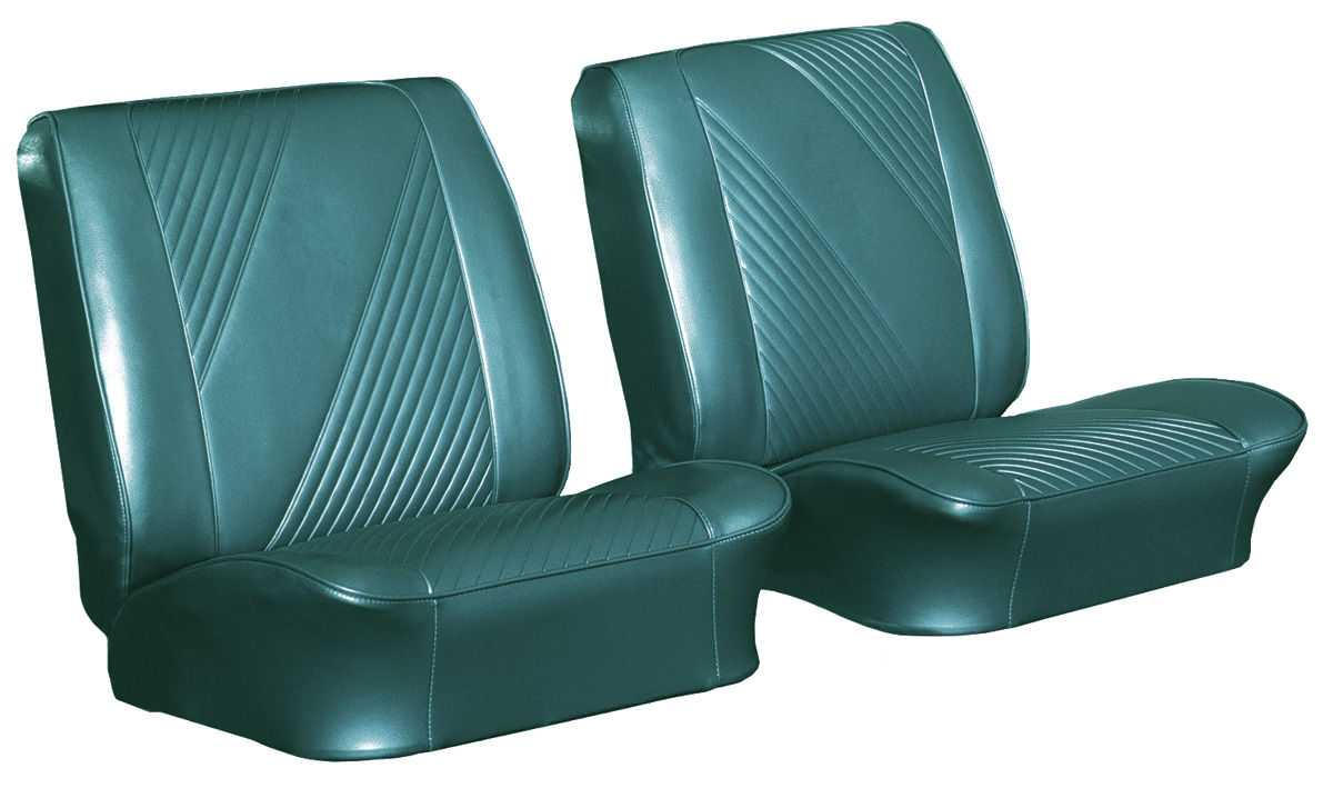 Seat Upholstery, 1965 Beaumont, Coupe Rear LEG