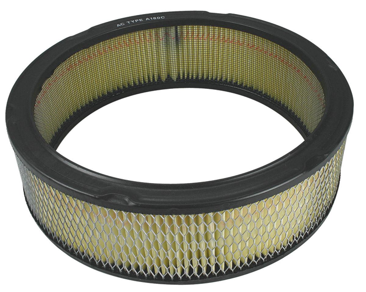"""Air Filter Element, 1954-88 All, 4bbl, 11"""" x 2-1/2"""""""