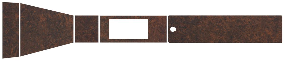 Console, WOOD GRAIN INSERTS, 1967-68 Bonneville,  Automatic