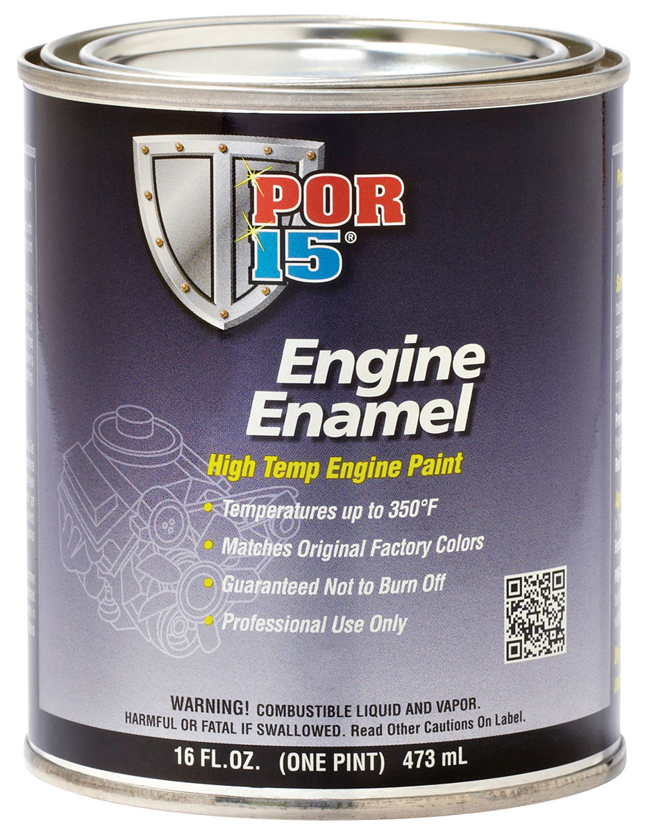 Engine Paint, Enamel, POR-15, Cadillac Dark Blue