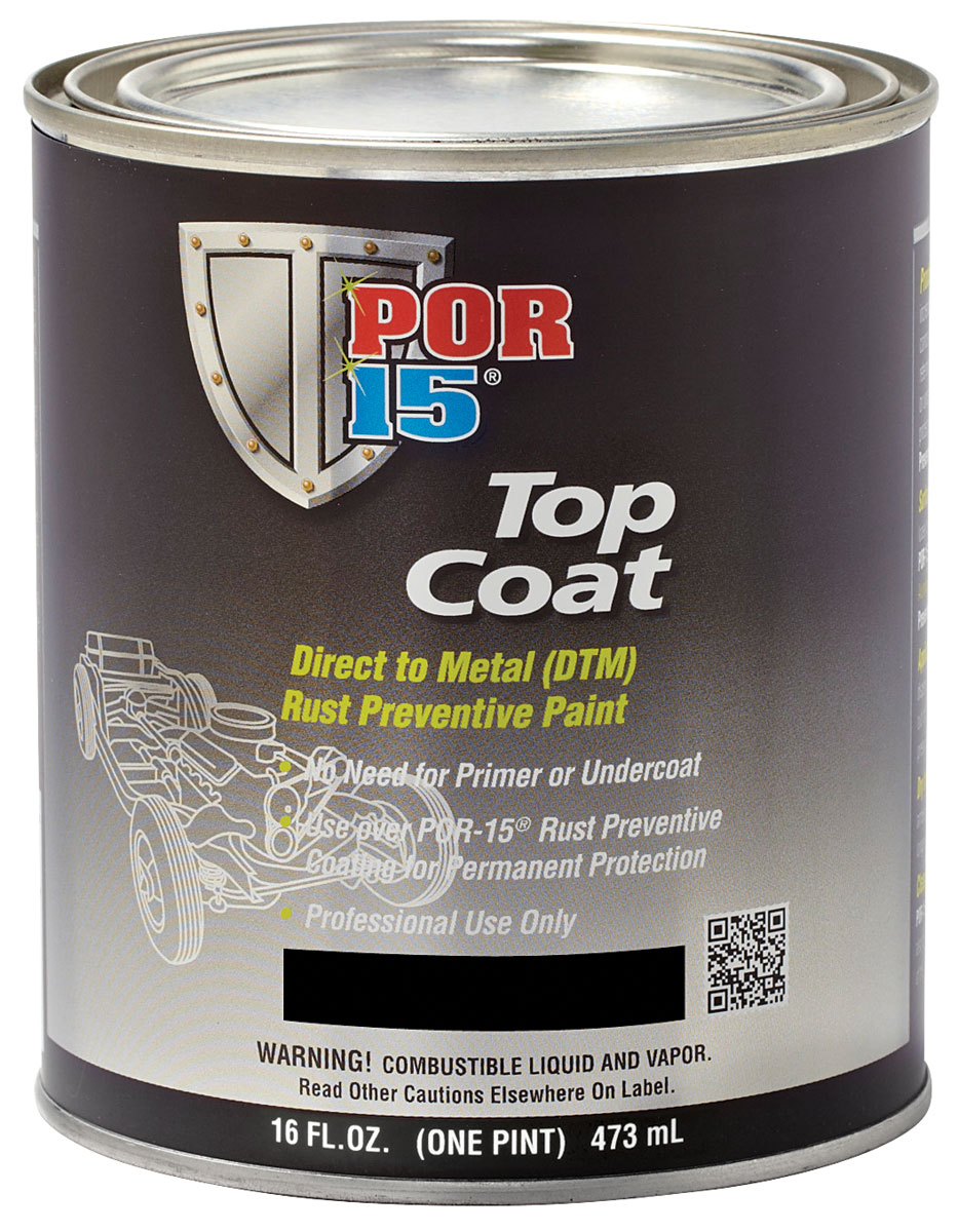 Paint, Top Coat, POR-15, Pint