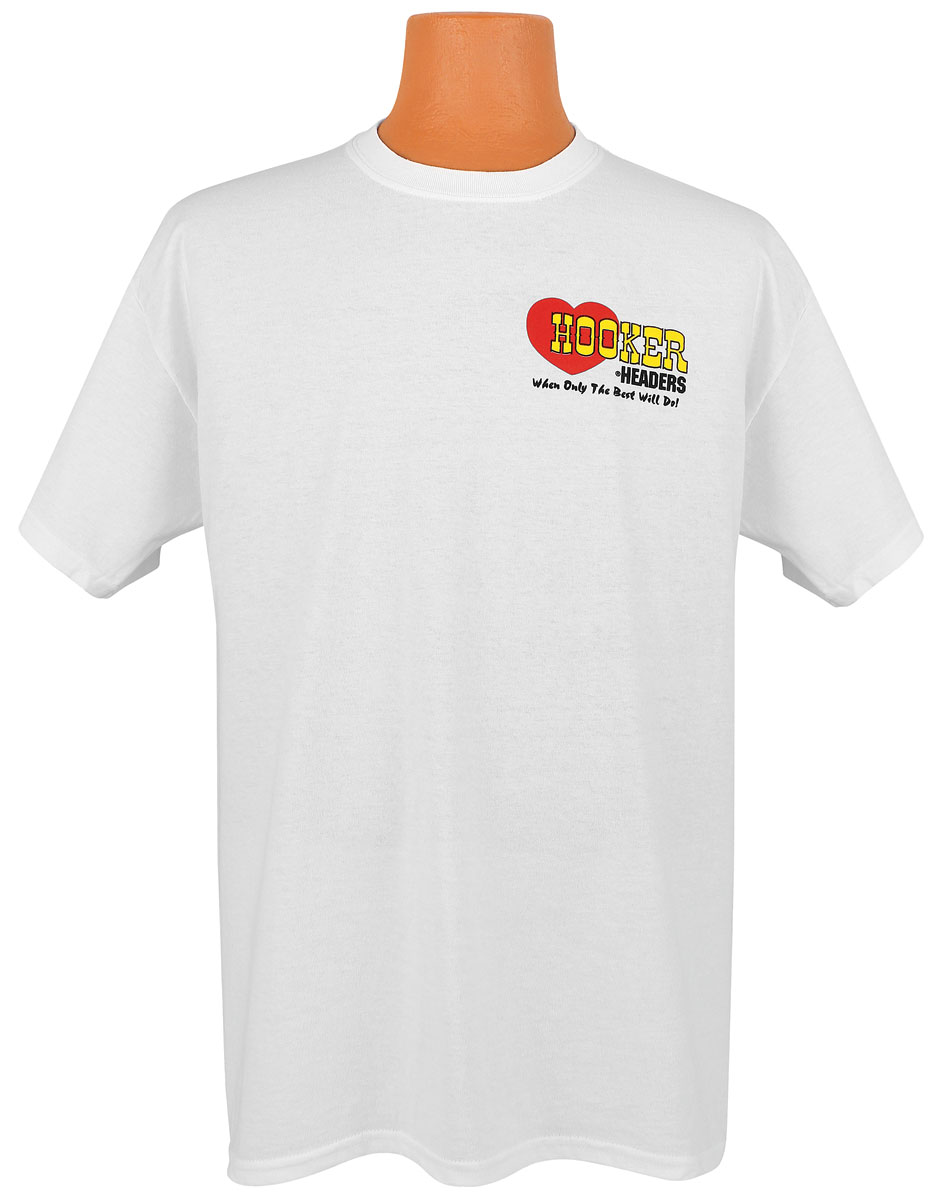 Shirt, Hooker Logo, White