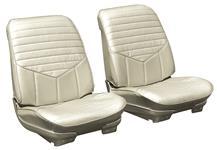 Bucket Seats, 1972 Cutlass, S, Assembled