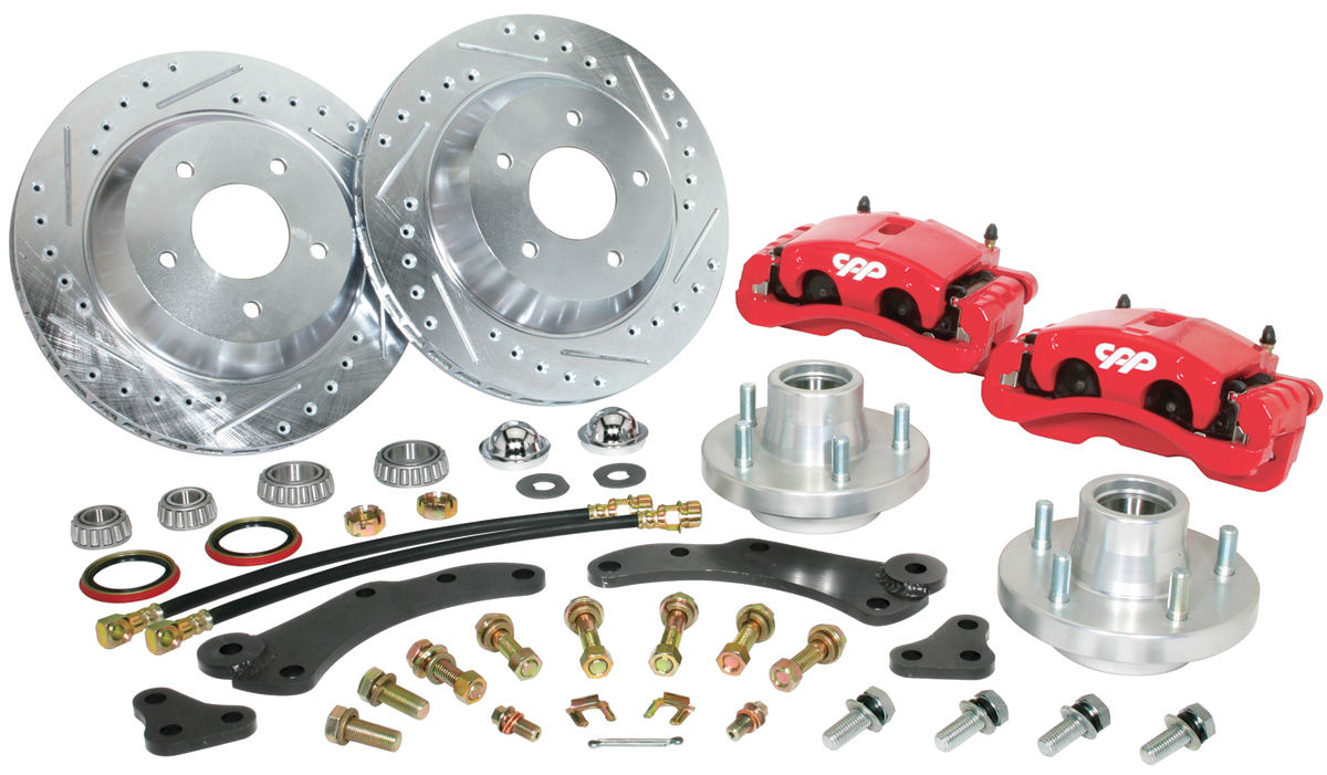 "Disc Brake Conversion, 1957-60 Cadillac, 13"", Kit, Front"