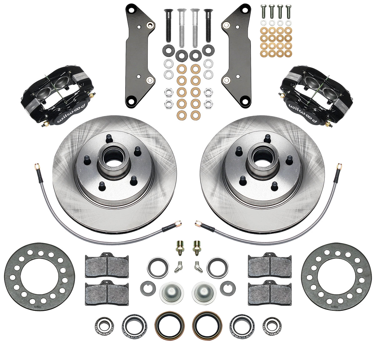 Wilwood Brake Kit, 1957-60 Cadillac, Dynalite Classic