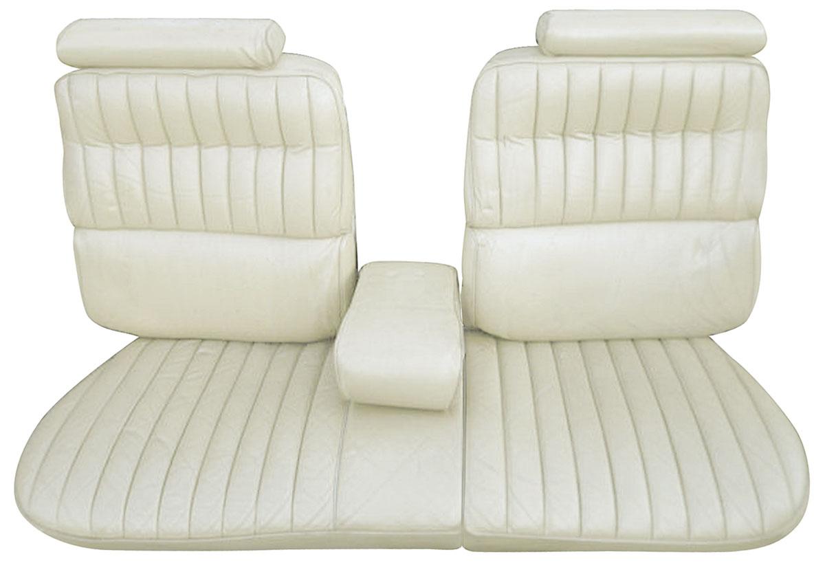 Seat Upholstery, 1973-74 Cadillac, Eldorado, Convertible Rear