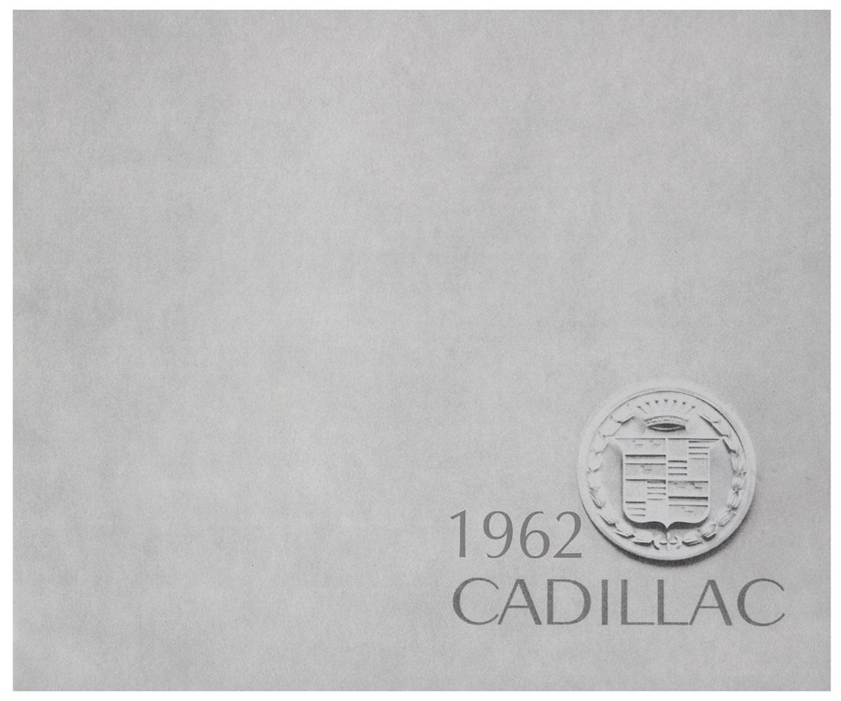 Sales Brochure, 1962 Cadillac