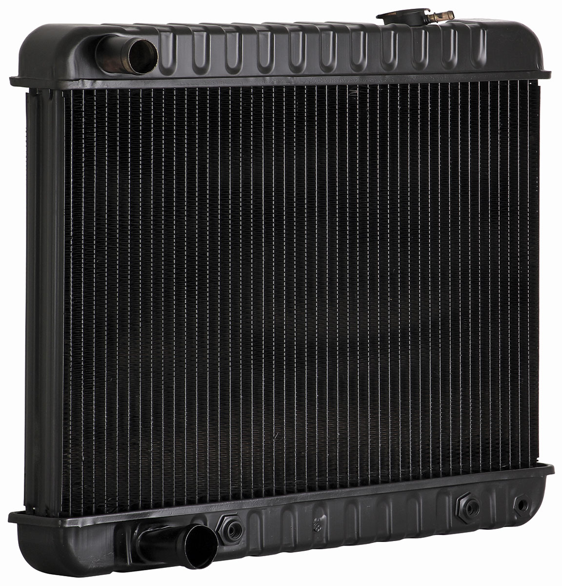 Radiator, 1961-62 Cadillac, V8, AT, w/o Air 3-Row, 17-3/8