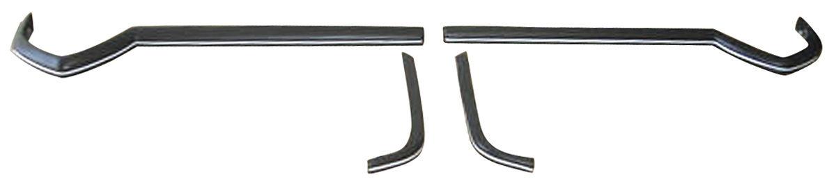 Bumper Impact Strips, Front, 1974 Eldorado, Vertical