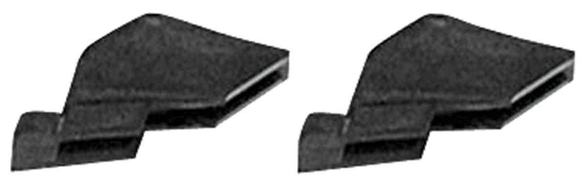 Rubber Stopper, Door Glass, 1961-62 Cad Hdtp Coupe/Sedan, 1961-62 Pontiac Hdtp