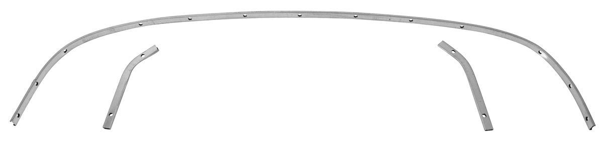 Rear Tack Bow, Convertible, 1961-64 Cadillac/Bonneville/Catalina, 3pcs