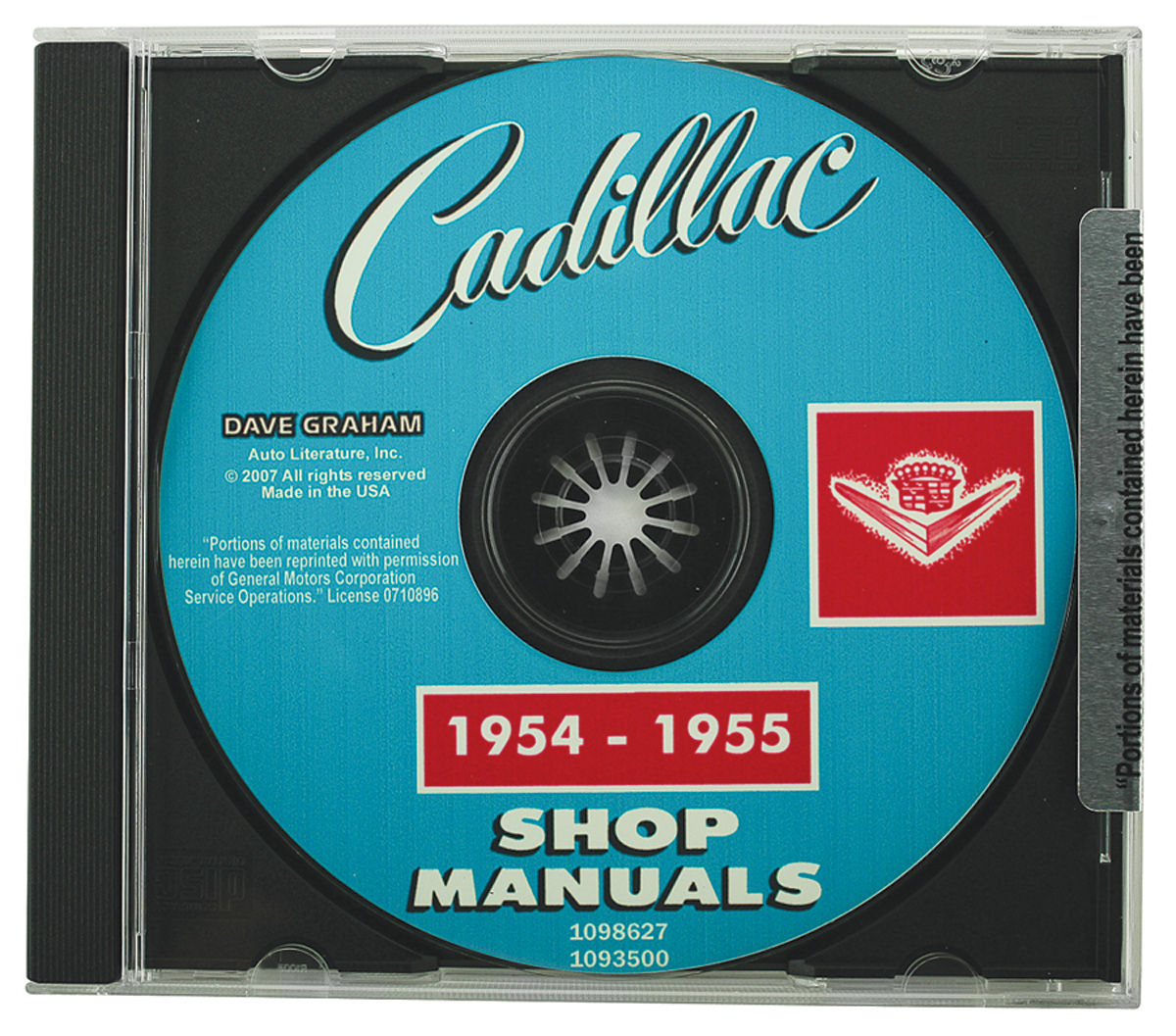 Factory Shop Manuals, CD-ROM, 1950-51 Cadillac