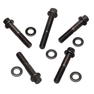 Bolts, Waterpump, ARP, V8, Black, 6 PT