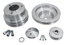 Pulley Set, March Performance, BB, Long Pump, 1-Groove