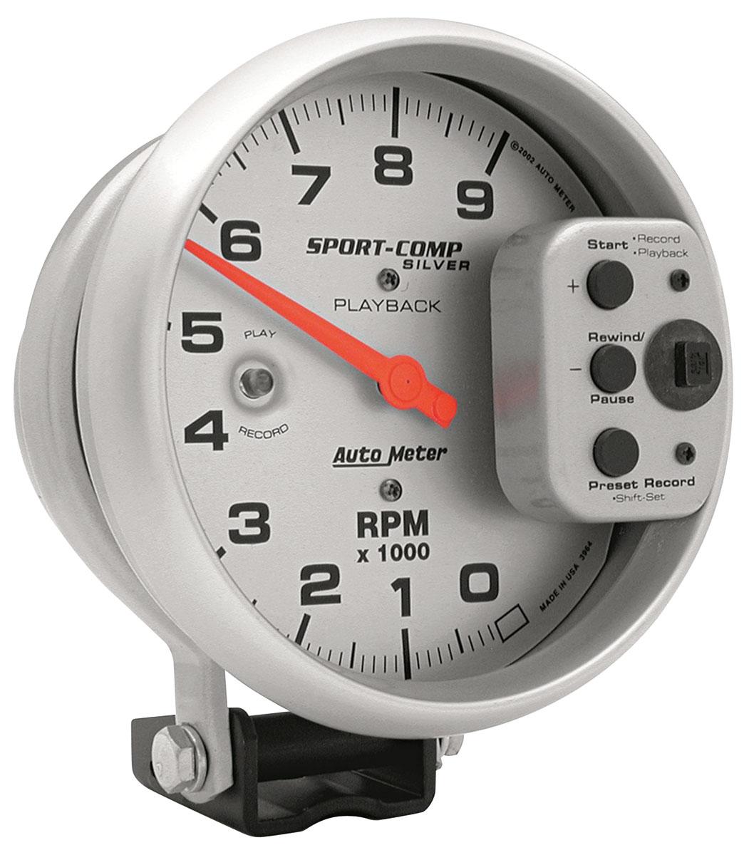 Gauge, Tachometer, Auto Meter, Ultra Lite, 5