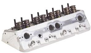 Cylinder Heads, Edelbrock, Performer RPM, 64CC, Complete