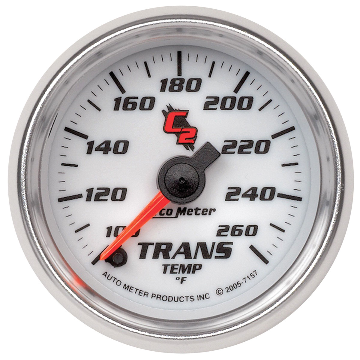 Gauge, Transmission Temperature, Auto Meter, C2, 2-1/16