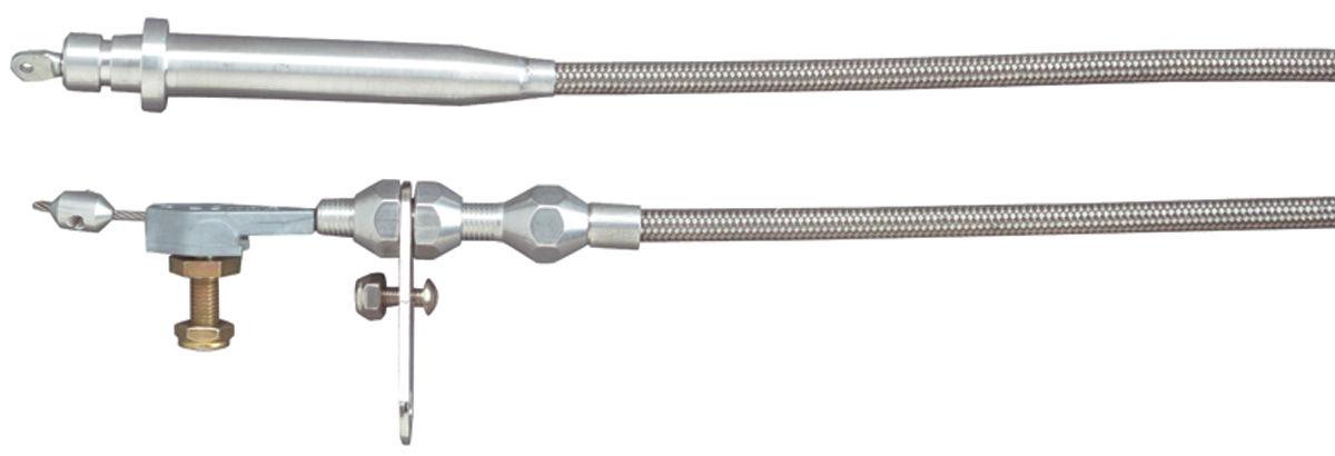 Kickdown Cable, TH400, Lokar, Black