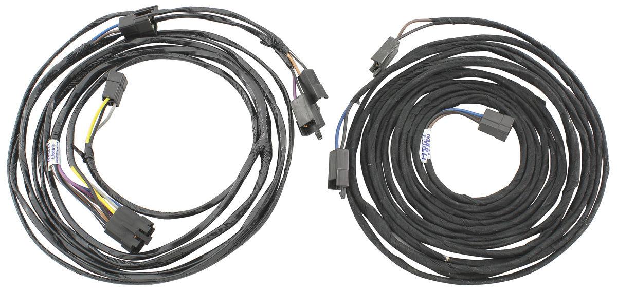 Wire Harness, 1972 CH/MC, Mono, w/o AC, Dual FT/Single RR Speakers