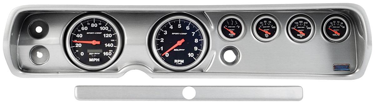 Gauge Conversion, Classic Dash, 65 Chevelle/El Camino, Phantom