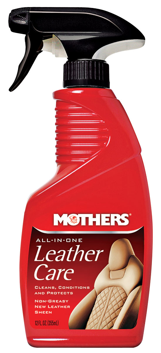 Leather Care, All-In-One, Mothers, 12-oz