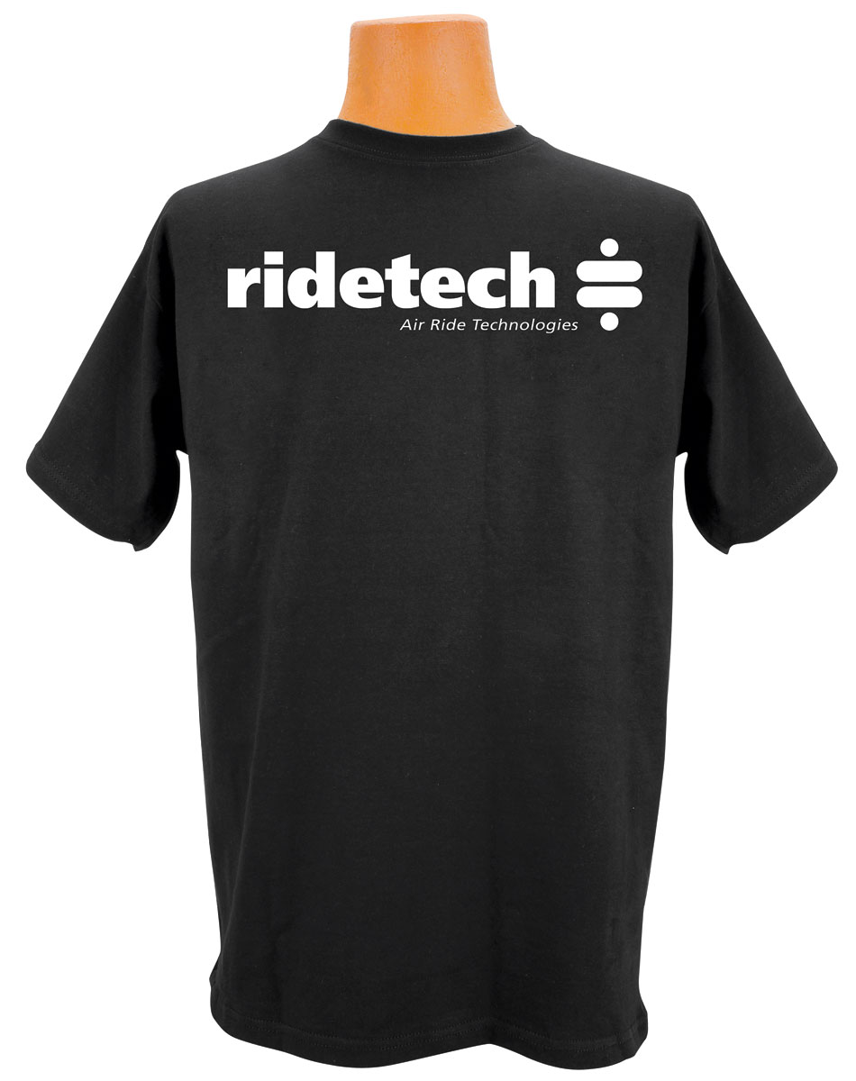 Shirt, Ride Tech Logo, Black